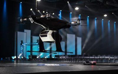 Audi presenta un prototipo de su taxi aéreo eléctrico y autónomo en Ámsterdam