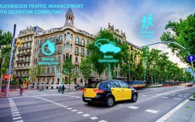 Volkswagen utilizará cálculos cuánticos para optimizar el tráfico