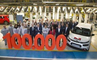 Citroën supera las 100.000 matriculaciones en España en 2018 por primera vez desde 2010