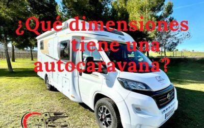 ? ¿Qué dimensiones tiene una autocaravana? ?